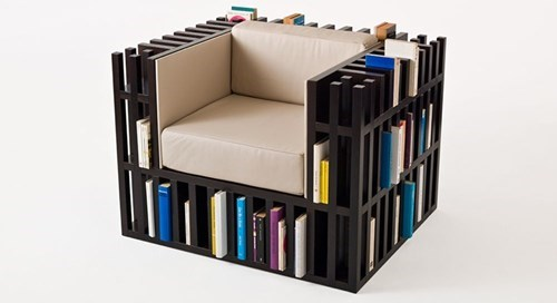 chair reading is sexy design books - 8167334144