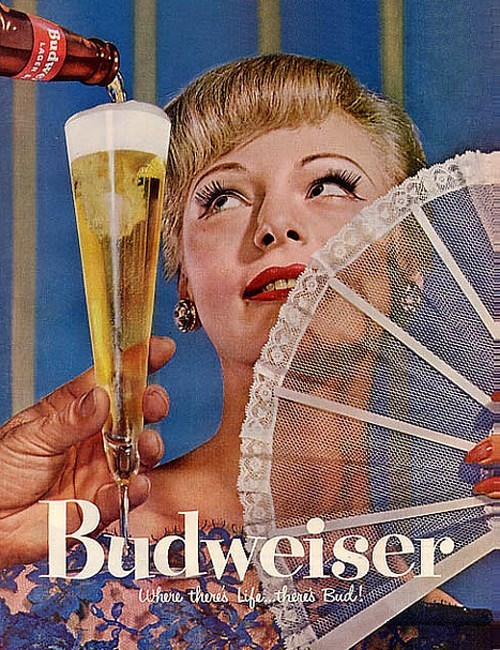 beer fancy budweiser ads funny - 8167338496