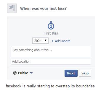 facebook,Oversharing