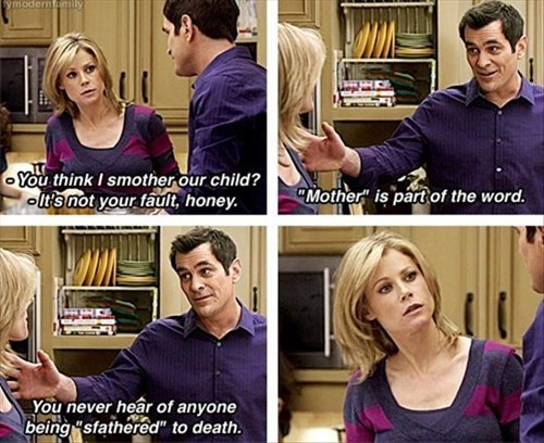 Modern Family,mother,puns,funny