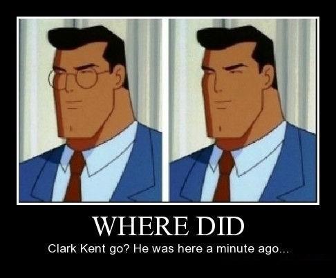 Clark Kent funny superman wtf - 8167496448