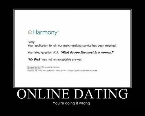 eharmony,funny,online dating