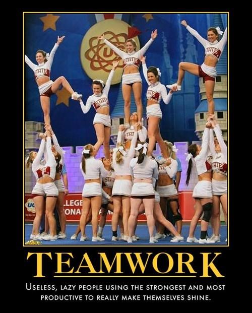 lazy funny pyramid teamwork - 8167513856