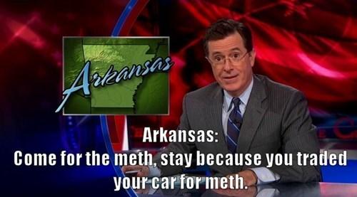 arkansas drugs stephen colbert the colbert report - 8168233984