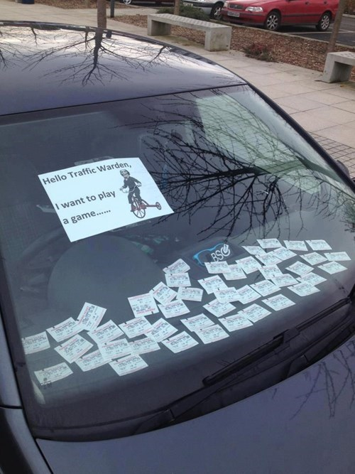 jigsaw,saw,parking tickets