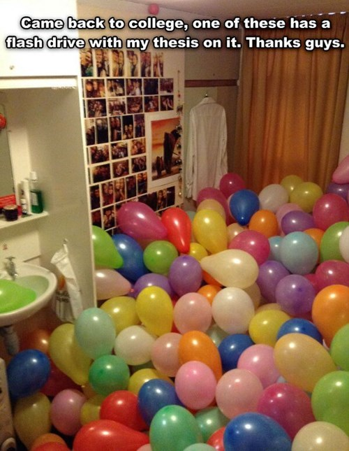 Balloons college roommates - 8168305664