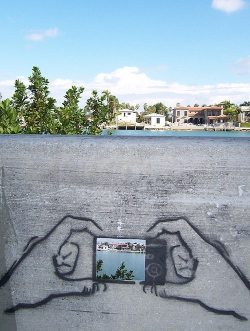 Street Art camera hacked irl - 8168346880