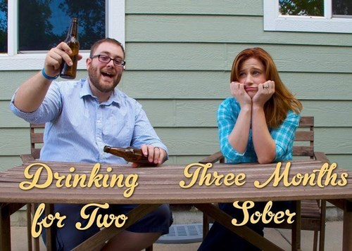 beer,announcement,parenting,pregnant