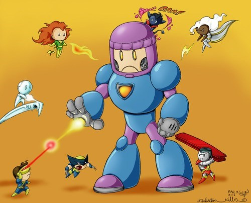 chibi,Fan Art,x men