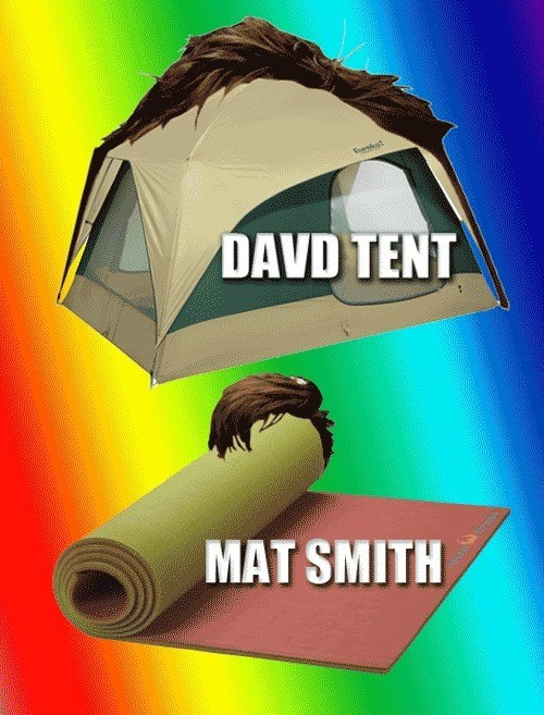 doctor who David Tennant Matt Smith puns - 8168490240