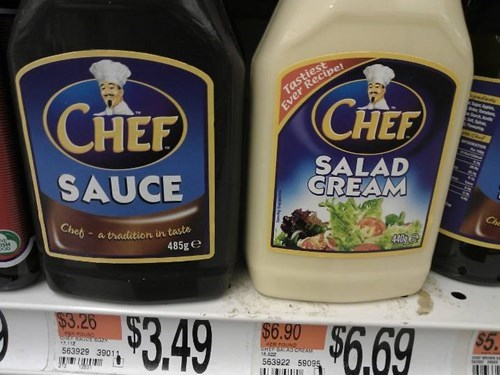 food,for sale,generic,knockoff,sauce