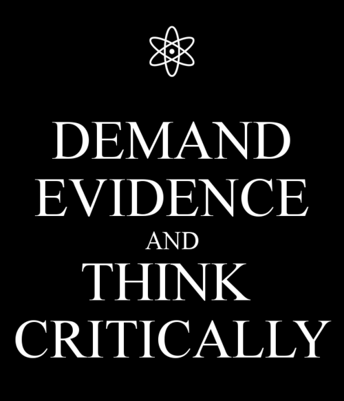 evidence,funny,science,critical thinking
