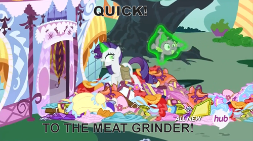 spike,cannibalism,rarity