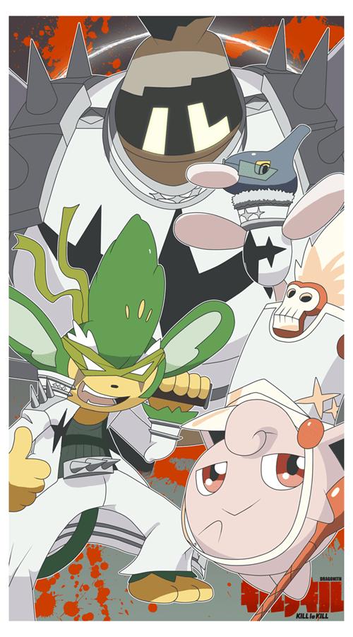 Fan Art Pokémon kill la kill - 8168952832