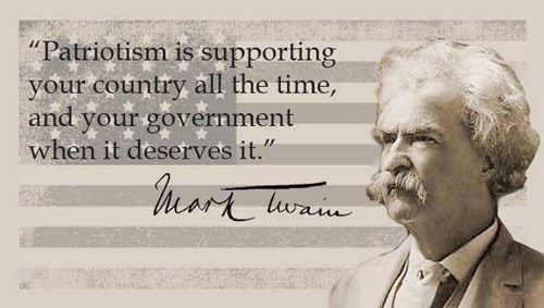 patriotism,quotes,mark twain