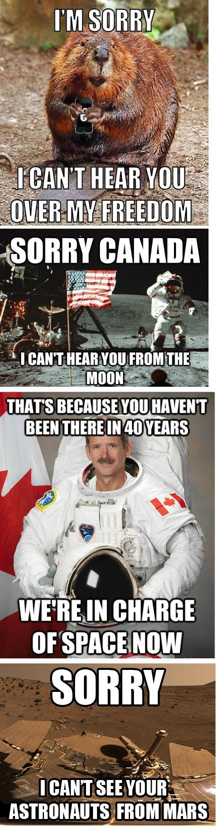 Canada nasa chris hadfield the moon Astronomy space - 8169351424
