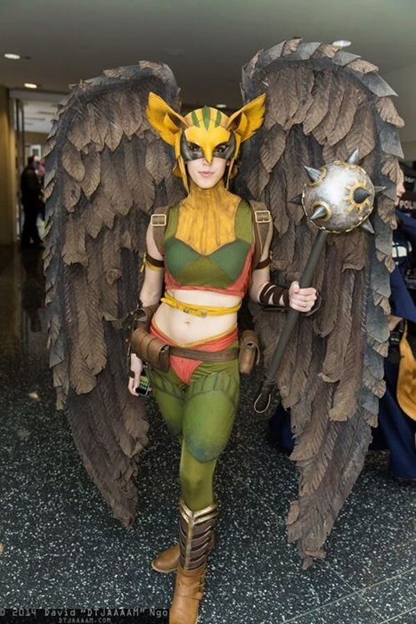 cosplay hawkgirl justice league - 8169534464