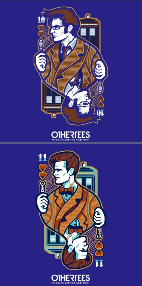 tshirts 10th doctor 11th Doctor - 8169626880