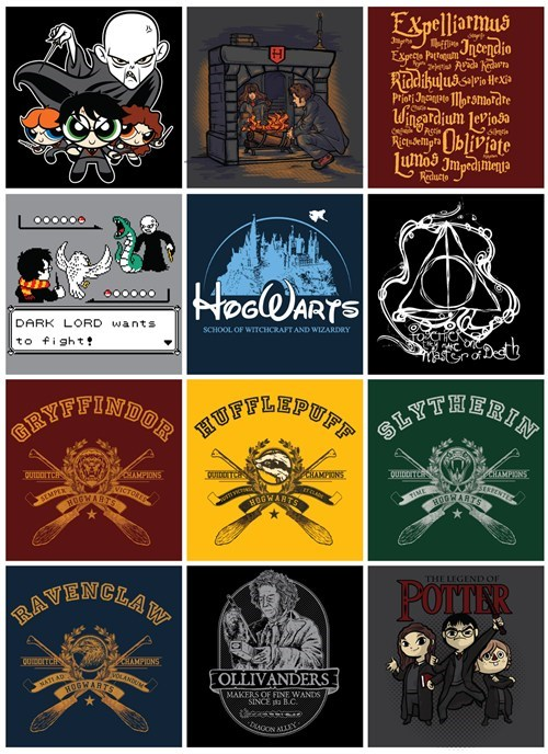 doctor who,Harry Potter,Hogwarts,tshirts
