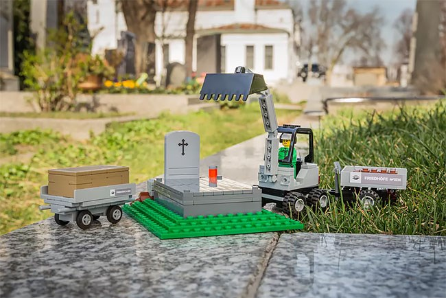 cemetary lego funeral - 8169733