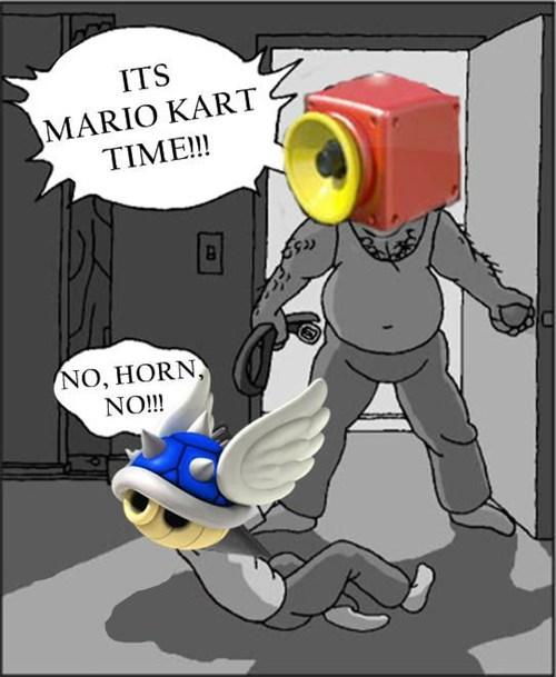 blue shells Memes Mario Kart super horn - 8170034944