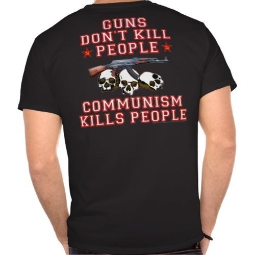 commies guns communism t shirts - 8170059008