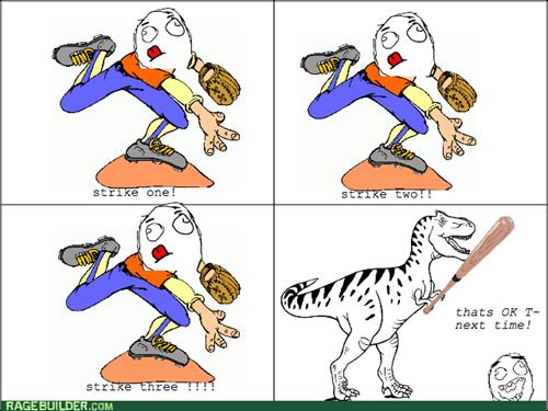 baseball t rex tyrannosaurus rex - 8170485248