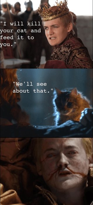 Game of Thrones,joffrey baratheon,tommen baratheon,ser pounce