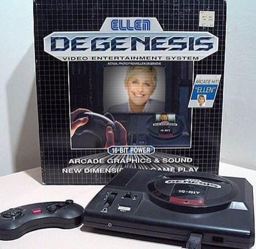 ellen degeneres sega genesis - 8170543616