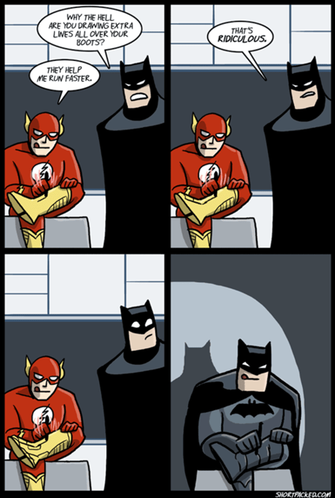 batman,the flash,web comics