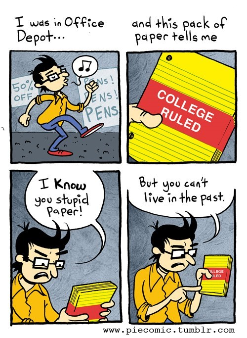 college puns paper web comics - 8170723840