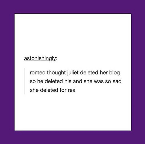 feels tumblr romeo and juliet shakespeare - 8170962688
