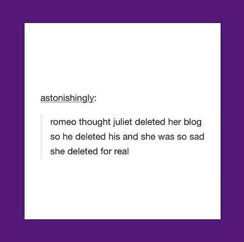 feels tumblr romeo and juliet shakespeare - 8170962688