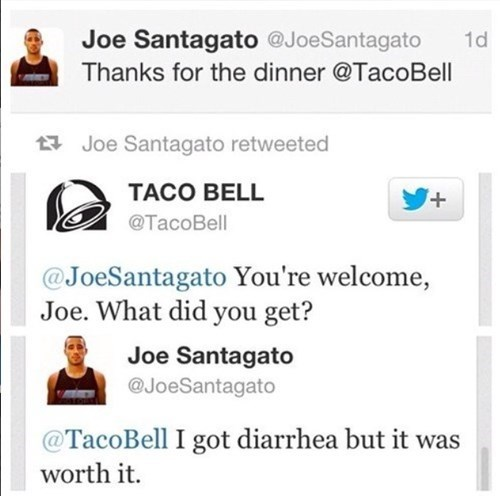 food taco bell twitter failbook - 8171007488