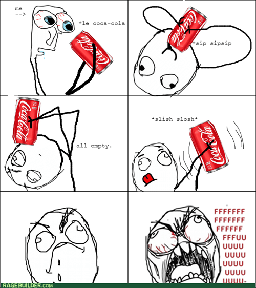 soda can,rage