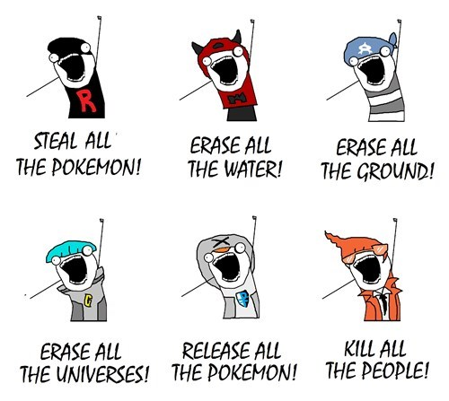 all the things Memes Pokémon - 8171492864