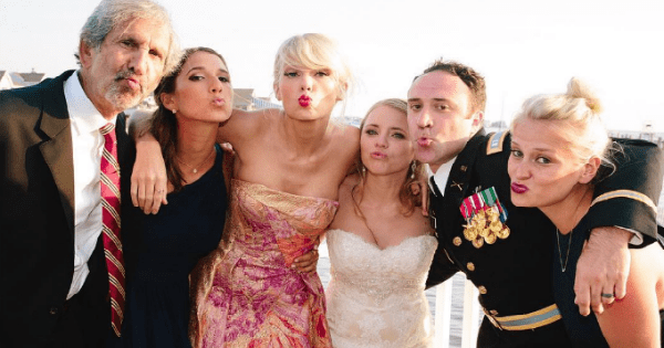 taylor swift list wedding win dating