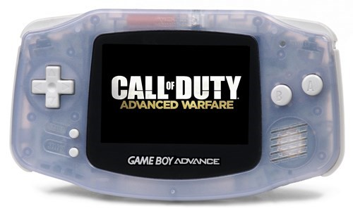 call of duty game boy advance cal of duty advanced warfare - 8171716352