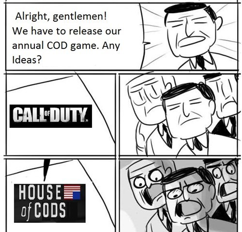 call of duty,house of cards,kevin spacey,Memes,call of duty advanced warfare