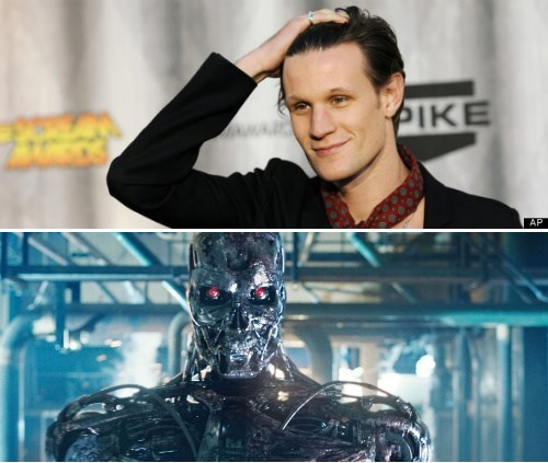 casting news,Matt Smith,terminator