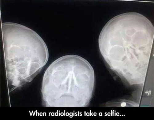 monday thru friday work selfie radiologist g rated - 8171974400