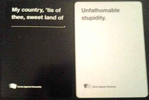 cards against humanity my country tis of thee - 8171981056