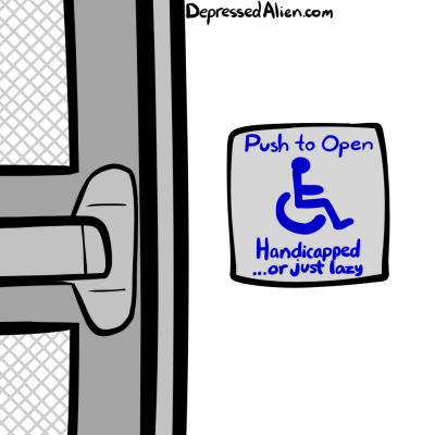 doors handicapped web comics - 8172001280