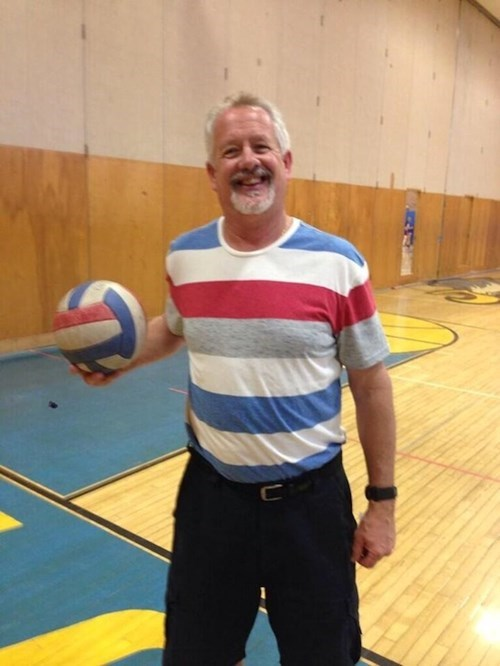 matching school poorly dressed volleyball stripes g rated - 8172050432