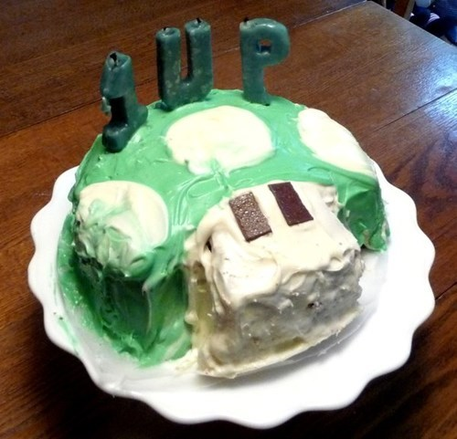 1up birthday cake - 8172081408
