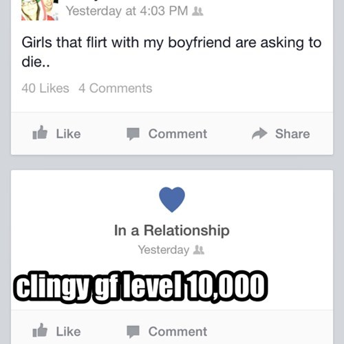 run bro overly attached girlfriend clingy - 8172108544