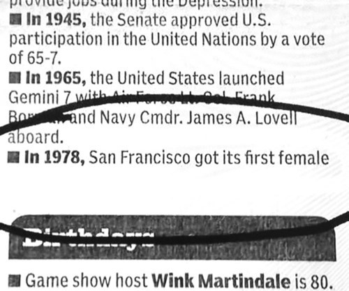 san francisco newspaper typo fail nation - 8172229120