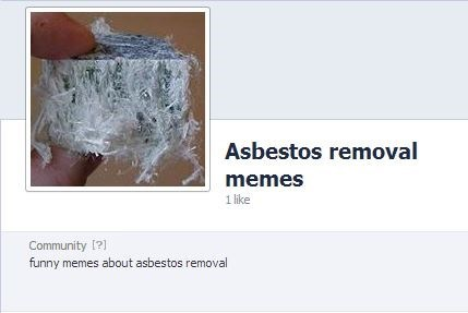 facebook weird asbestos - 8172238848