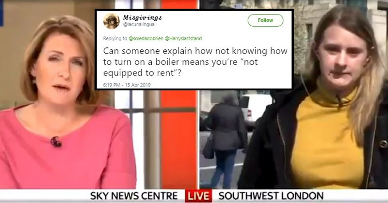 landlord news wtf england millennials London poor people problems cost of living sky news British stupid people UK interview - 8172293