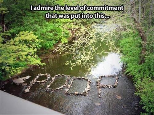 rocks poop rivers - 8172470528